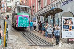 Funicolare, Lisbona, Portogallo (Pianeta Gaia Viaggi) Tags: portogallo portugal lisbona lisboa