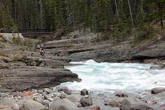Photographing the River (JB by the Sea) Tags: banff banffnationalpark alberta canada september2019 rockymountains rockies canadianrockies icefieldsparkway highway93 mistayacanyon mistayariver