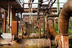 Kingdom Of Rust (The_Kevster) Tags: rust metal industrial pipes landscaftpark dusseldorf abandoned duisburg germany ruhr steel steelworks nikon dslr nikond7000 heritage derelict europe