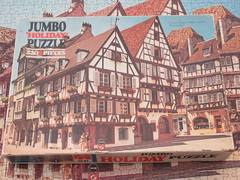 Jumbo 1531 France, Alsace, Colmar, 'rue des Marchandes' - box (dvdlcs) Tags: jigsaw jumbo ruedesmarchandes colmar alsace holidaypuzzle 520piece
