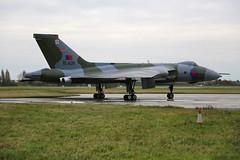 G-VJET / XL426 Southend 16/11/19 (Andy Vass Aviation) Tags: southend vulcan gvjet xl426 royalairforce