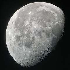 Moon, November 16, 2019. (FailedProtostar) Tags: celestron telescope iphone moon