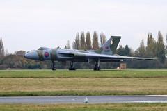 G-VJET / XL426 Southend 16/11/19 (Andy Vass Aviation) Tags: southend vulcan xl426 gvjet royalairforce
