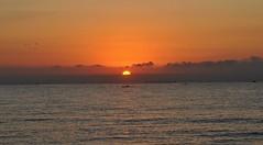 Sunrise - Amanecer (En memoria de Zarpazos, mi valiente y mimoso tigre) Tags: sunrise sun sea seascape skyfire skyred skyscape beach amanecer alba sol sole mar mare cielorojo cielorosso nikon alicante