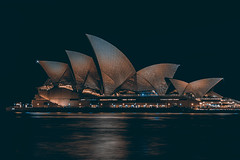 sydney opera house (Greg M Rohan) Tags: nikon d750 nikkor 2019 longexposure nightphotography water architecture night nightlights sydney australia icon operahouse sydneyoperahouse