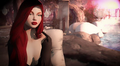 Red... (Fraz_Gloom) Tags: sl second life secondlife redhead red hair portrait