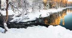 Äkasmylly (ikkasj) Tags: lapland äkäsmylly finland talvi winter nature white snow water pallasylläs nationalpark pallasylläsnationalpark
