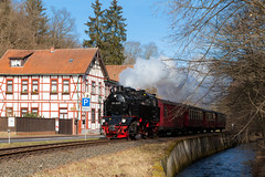 Krupp im Selketal (trainspotter64) Tags: eisenbahn zug train treno tren trein railroad railway spoorwegen vlak bahn hsb harz dampflok dampf lokomotive lok steam steamengine selketal selketalbahn sachsenanhalt krupp schmalspur schmalspurbahn