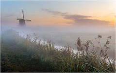 Good morning III (Rob Schop) Tags: morning broekmolen mist fog windmill leadinglines composition mood zigzag sonya6000 nofilters singleexposure sigma30mm14 streefkerk landschap zuidholland nederland dutch