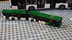 Lego bus by Graz Linien (garethtrooper) Tags: lego bricks graz bus grazlinien tramwaymuseumgraz