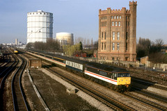 Photo of 47839 05.51 Wolverhampton-Paddington, Southall 22.02.1990