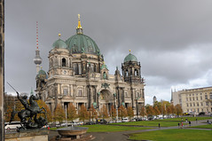 Berliner Dom (RIch-ART In PIXELS) Tags: dome church berlin nikon city architecture sky cloud town deutschland germany