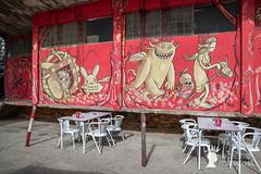 Murale nel quartiere Lx Factory, Lisbona, Lisbona (Pianeta Gaia Viaggi) Tags: portogallo portugal lisbona lisboa