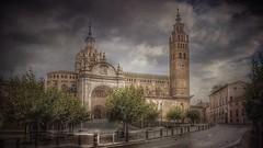 Catedral de Tarazona (Marina Is) Tags: tarazona aragon catedral gotico mudejar sliderssundays ~~~hss~~~