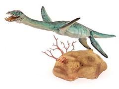 Plesiosaurus  (1:10) (RobinGoodfellow_(m)) Tags: plesiosaurus 110 jorge blanco martin garratt urzeitshop marine reptile sea monster monsters animal prehistoric resin kit model figure