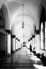 ARCHED BEAUTY (bhs-photo) Tags: bnw monochrome schwarzweis noiretblanc munich münchen architektur architecture leica leicaq