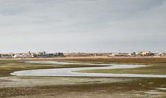 Esteiro Baiao (Dave Snowdon (Wipeout Dave)) Tags: landscape canoneos80d coast riaformosanaturalpark algarve portugal davidsnowdonphotography esteirobaiao praiadefaro estuary river village mudflats