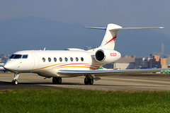 Zhao Wei 趙薇 Gulfstream Aerospace G650ER N312ZW (Manuel Negrerie) Tags: zhao wei 趙薇 gulfstream aerospace g650er n312zw zhaowei bizjet g6 gvi plane aviation aircraft design spotting avgeeks tsa songshanairport airport taxiway