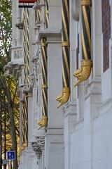 Gouttières de l'Hôtel Gaillard (Mhln) Tags: hôtel gaillard banque france cité économie citéco paris musée expo banquedefrance renaissance style