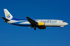 N807TJ (SwiftAir) (Steelhead 2010) Tags: swiftair boeing b737 b737400 yyz nreg n807tj