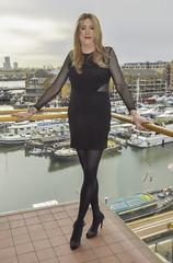 Feeling Glamorous :-) (LindaTV2017) Tags: transvestite crossdresser cd tv tgirl tgurl lindatgirl crosdresser lbd
