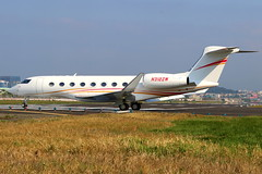 Zhao Wei 趙薇 Gulfstream Aerospace G650ER N312ZW (Manuel Negrerie) Tags: zhao wei 趙薇 gulfstream aerospace g650er n312zw zhaowei bizjet aircraft tsa runway planes design livery songshanairport airport jet canon spotting technology vip executive
