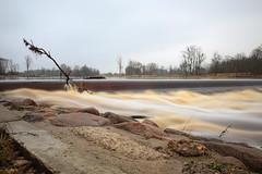 Aiviekste (JaaniicB) Tags: canon 77d eos sigma 1750 f28 nd1000 neutral density filter river water flow smooth autumn fall aiviekste latvia latvija upe