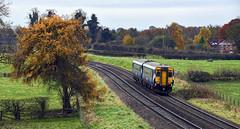 Sprinting Hame (wwatfam) Tags: class 156 super sprinter diesel multiple unit dmu scotrail trains railways railroad transport whitchurch shropshire england britain