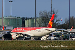 A320 N676AC ex PR-ONS AVIANCA BRASIL old colours (shanairpic) Tags: jetairliner passengerjet a320 airbusa320 shannon avianca austrianairlines prons n676ac oelze