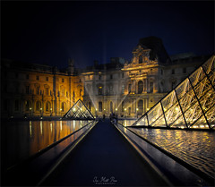 Geometric (Jean-Michel Priaux) Tags: louvre louvres paris night parisbynight art pyramide geometric way light pathway musée spot patrimony france line priaux luminar reflect history rivoli napoléon mitterand