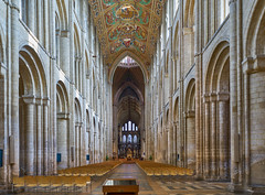 Ely Cathedral, Cambridgeshire (JackPeasePhotography) Tags: ely cathedral cambridge autumn 2019 architecture arches gothic norman sony a7rii september east anglia nave quire