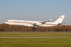 German Air Force Airbus A340-313 16+01 3540 Flickr (Daniel P.346) Tags: 1601 gaf german airbus a340 a343 air force merkel deutschland