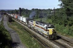 SDP45's (ac1756) Tags: el erielackawanna emd sdp45 3641 eaststroudsburg pennsylvania