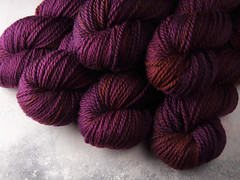 It's a Stitch Up Awesome Aran in 'Dancing in the Dark' (suziesparkle) Tags: yarn handdyed
