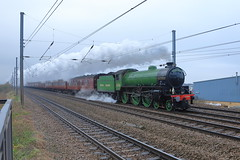 Photo of Steaming 61306 'MAYFLOWER'