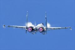 Sukhoi Su-35S - 09 (NickJ 1972) Tags: maks zhukovsky airshow 2019 aviation sukhoi su35 su27 flanker rf81719 52 red