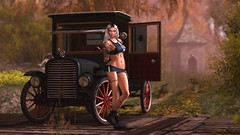 down in the past (xPeach Boucherx) Tags: secondlife home shop nature fun bar national outside bbos jessposes maitreya