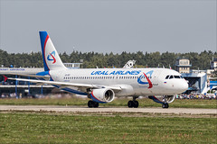 Airbus A320-214 - 01 (NickJ 1972) Tags: maks zhukovsky airshow 2019 aviation airbus a320 vqbci ural airlines