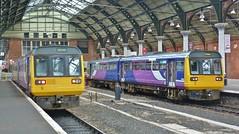 Stabled at Darligton (Jeff Mckever) Tags: 142093 142018 northern darlington station train railway dmu 16thnovember2019