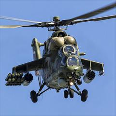 Mil Mi-35M - 07 (NickJ 1972) Tags: maks zhukovsky airshow 2019 aviation mil mi24 mi35 hind 341 2302 yellow