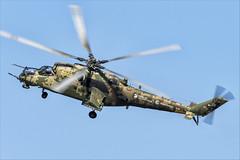 Mil Mi-35M - 09 (NickJ 1972) Tags: maks zhukovsky airshow 2019 aviation mil mi24 mi35 hind 341 2302 yellow