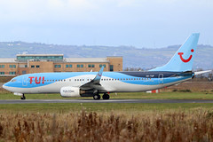 OO-TUP (GH@BHD) Tags: ootup boeing 737 738 737800 b737 b738 73785p tuiairlinesbelgium bhd egac belfastcityairport aircraft aviation airliner