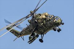 Mil Mi-35M - 16 (NickJ 1972) Tags: maks zhukovsky airshow 2019 aviation mil mi24 mi35 hind 341 2302 yellow