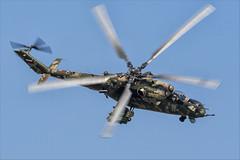Mil Mi-35M - 19 (NickJ 1972) Tags: maks zhukovsky airshow 2019 aviation mil mi24 mi35 hind 341 2302 yellow
