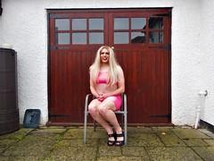 Pink Bimbo 2 (AlexaJane9) Tags: crossdresser crossdress crossdressed crossdressing tgirl transvestite trans genderfluid femboi bimbo