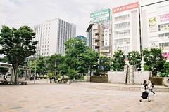 郡山 Koriyama (しまむー) Tags: pentax mz3 smc a 28mm f28 kodak gold 200 北海道&東日本パス 普通列車 local train trip east japan 東北本線 縦断