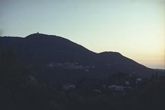 (Just A Stray Cat) Tags: kodak color plus 200 corfu greece ionian islands albania sunset dusk dawn sunrise mountain peak 35mm 35 mm film analog analogue olympus mju mjuii ii