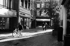 DSCF0516 (ph.baert) Tags: street bw blackandwhite x100 x100f fujifilm leuven