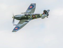 Shuttleworth Spitfire Mk.V AR501 (safc1965) Tags: spitfire shuttleworth collection ww2 raf battle britain ar501 aircraft airshow fighter photography old warden
