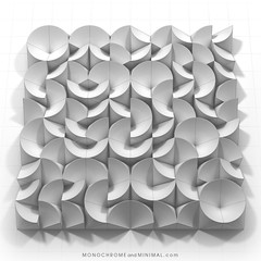 Visualization of Permutation 045 (monochromeandminimal) Tags: art kunst deinewirklichkeit meinewirklichkeit ramp schräge schräg konstruktivismus absolutismus geometrie einfachschön simplicity perfection ddr essential form geometry shape permutation lessismore sophistication minimalism abstractart geometricart relief design artgallery sculpture museum constructed geometric artwork pattern minimal abstract constructive circle shadows monochromandminimal minimalart white monochrome gallery architecture pietern contemporaryart 3dminimal monochromeandminimal exhibition artmag modernart